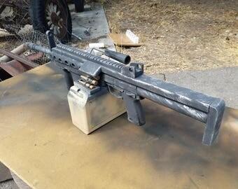 Light Machine Gun built from scratch