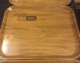 Set of 3 Camtray by Cambro Serving Tray Family Affair Restaurant tray