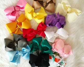 BABY BOWS - Assortment of colors!!!