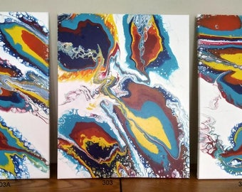 Original Fluid Art Paintings