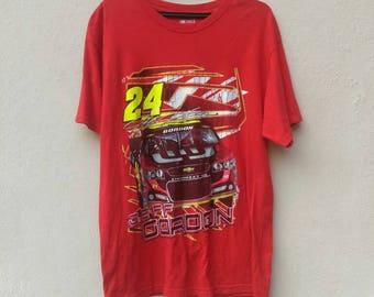 Nascar Jeff Gordon Large Shirt