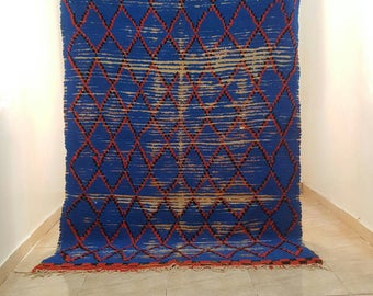 Nice vintage Morrocan rug (2.20 X 1.50 m) (86,6 X 59 inches)  (7,2 X 4,9 feet)