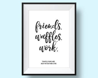 Leslie Knope, Parks and Recreation Quote Print - PRINTABLE, Digital Download