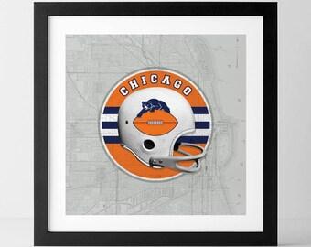 Vintage NFL: Chicago Bears-inspired