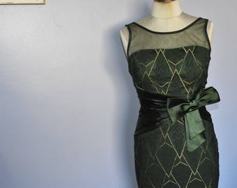 green dress/evening dress/mermaid dress/floor length evening dress/formal dress/wedding guest dress