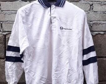 Sale !!! Vintage 90s Sergio Tacchini Button Ups Sweatshirt