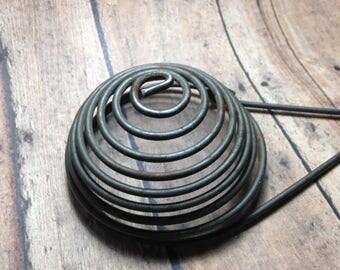 Antique Metal Wire Egg Separator, Primitive Kitchen Utensil, Whisk Primitive Farmhouse, Country Decor, Candle Holder