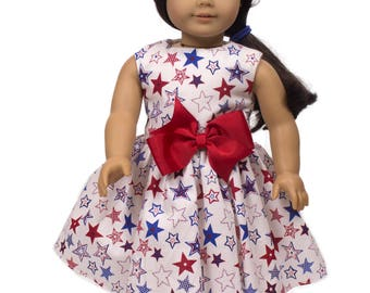 Doll dress  18 inch doll dress Made to fit all dolls like American Girl  18 inch doll clothes doll dress , doll clothes