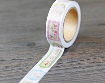 Washi Tape, Masking Tape, tape adhesive romantic scrapbooking