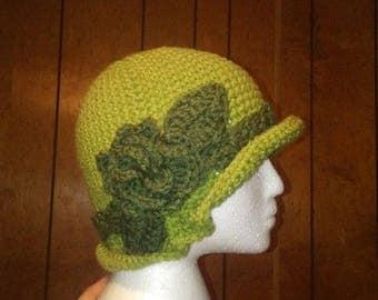 Green Roses Cloche