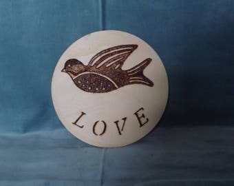 Bird Love Plaque
