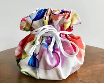 Jewelry Pouch, Drawstring Pouch, Accessory Pouch, Makeup Bag