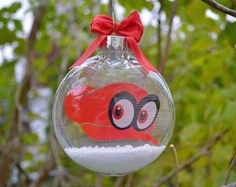 Super Mario Odyssey Cappy - Christmas Tree Ornament
