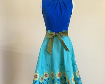 Anna Frozen Fever Fit and Flare Dress