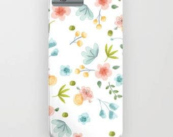 Flower Bed Iphone 6S Slim Case | Iphone 7 Clear Case | I Phone 7 Skin | Laptop and IPad Skin (2nd-4th GEN) by Marmalade June
