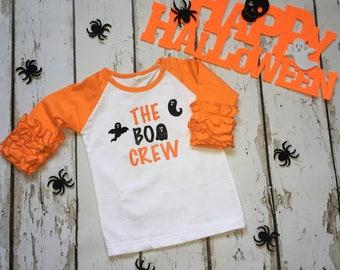 Girl or Boy Halloween The Boo Crew Tee