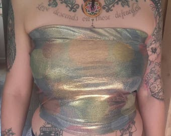 Festival crop tops/boob tubes - Made to order