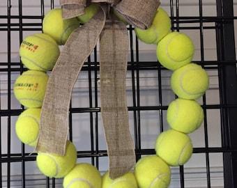 Sports Wreath - Tennis