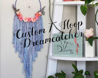dreamcatcher, dream catcher, nursery baby dreamcatcher, personalized gift, personalized baby shower gift, large custom bohemian dreamcatcher