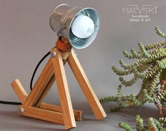 Bedroom wooden lamp Dog, Night lamp for kids, Childrens lamp, Kids lamp, Modern interior lighting, Animal lamp, Wooden desk lamp, Table lamp