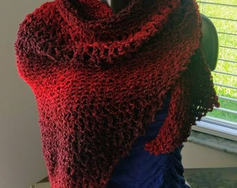 Small Red Shawl