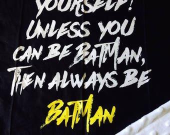 Batman Mini Blanket Lovie