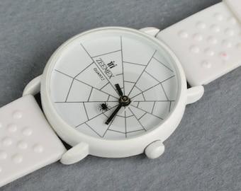 Retro Vintage Quartz Wrist Watch Spider Watch Spider Second Hand