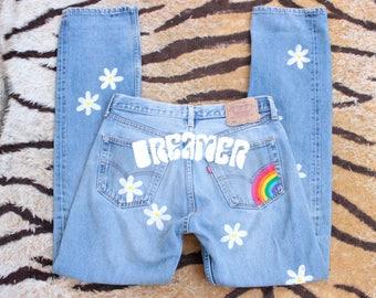 DESERT FOX Dreamer Rainbow Levi's Jeans