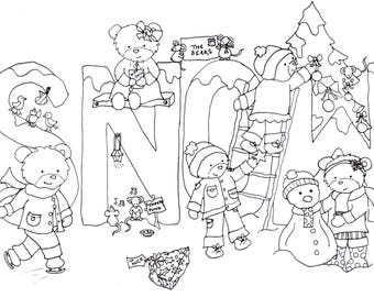 christmas colouring pages downloadable coloring page christmas coloring childrens colouring sheets kids