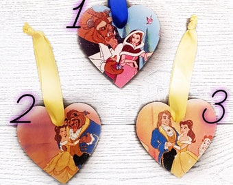 BEAUTY and the BEAST PLAQUES