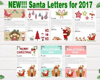 Letter from Santa, Santa Letter, Letter from Santa Claus, Personalised letter from Santa, Letter from Lapland
