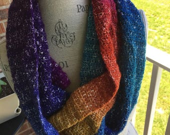 Doctor Who Scarf (bright colors)