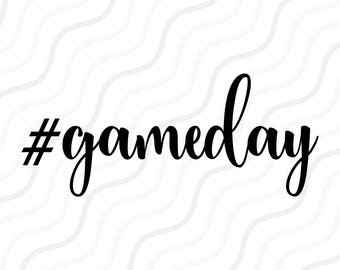 Gameday SVG, #gameday svg, Football SVG Cut table Design,svg,dxf,png Use With Silhouette Studio & Cricut_Instant Download
