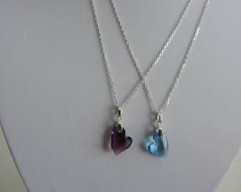 Swarovski Heart Crystal Pendant