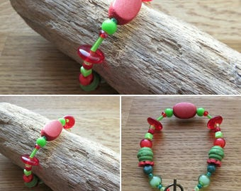 Bracelet with pearls beads 16267