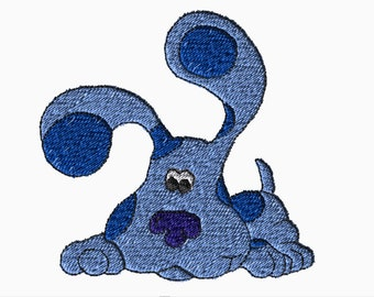 5x7 Embroidery File: Blues Clues, Choose Your Size and Format
