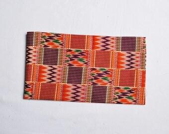 african kente print head wrap, african head wrap // african scarf // wax print scarf // turban wax // African head tie // kente scarf