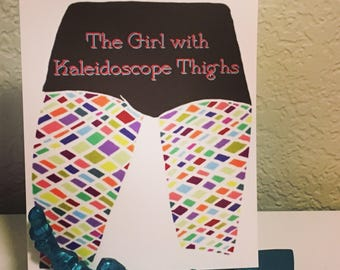 Girl With Kaleidoscope Thighs Mini Print
