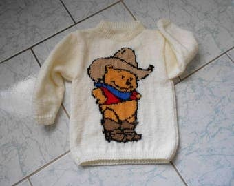 sweater mixed child 4 years