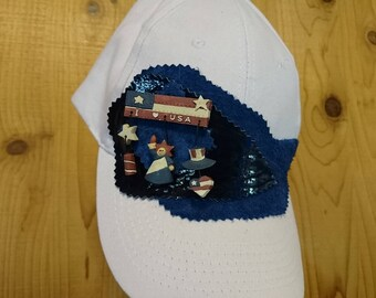 Patriotic Ballcap 20% off! Apply code SUMMERSALE2017