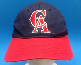 Vintage California Angels SnapBack Hat Adjustable 1990s