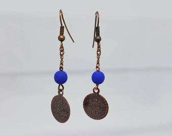 Model earrings - unique oriental atmosphere
