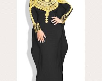 Exclusive Spandex kaftan abaya Made to order