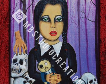 11 x 17 Wednesday Addams Poster Print