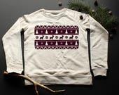 Sweatshirt coordinating p...