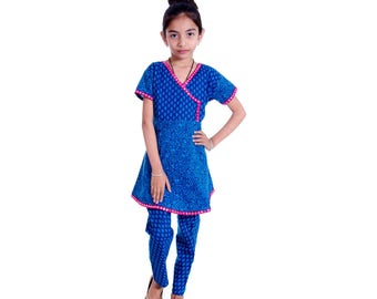 Kids Anarkali Suit Indian anarkali Dress Girls Ethnic Wear