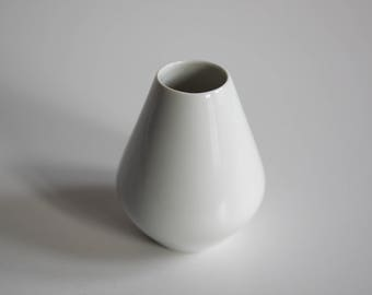 Small white vase from Fürstenberg / West_ Germany