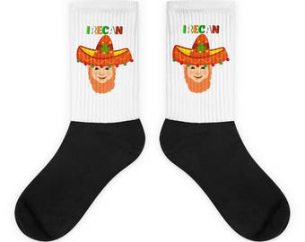 "Mexican Irish ""Irecan"" Socks"