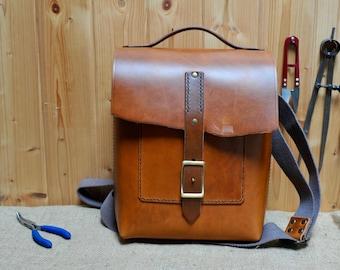Burnt Tan Shoulder/Cross Body Day Bag