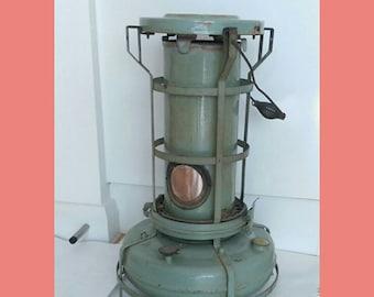 Vintage Alladin Pink Paraffin Heater